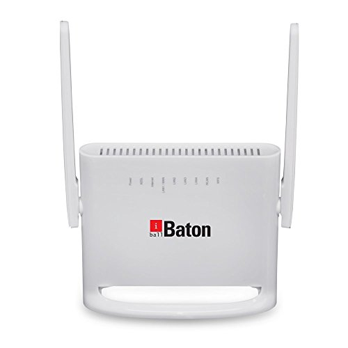 iBall Baton 4G/3G Triple Smart Wireless-N ADSL2+ Internet Router - iB-W4G311N