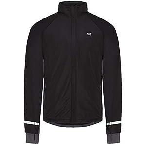 TAO Sportswear Atmungsaktive Laufjacke mit Fleecerückteil für Herren Coating Jacke