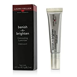 Laura Geller Banish N Brighten Concealing Luminizer - Fair/Light- 8.5g/0.3oz
