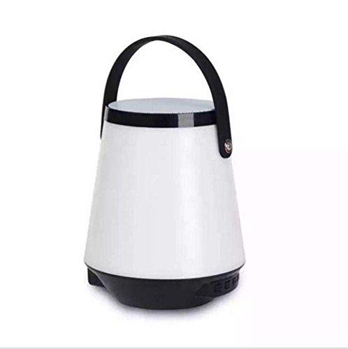 NAERFB Wireless Bluetooth Lautsprecher Portable Portable Karte Lautsprecher Outdoor Camping Kreative Nacht Licht Romantische Tischleuchte k Song (Box-schatten-tischleuchte)