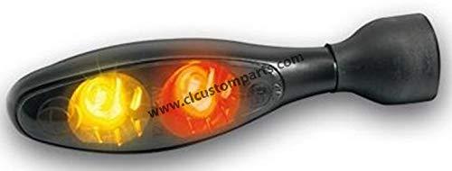 Preisvergleich Produktbild Micro 1000 DF Dark LED Turn / brake / Rear Light Rear Black... – KELLERMANN 20200552