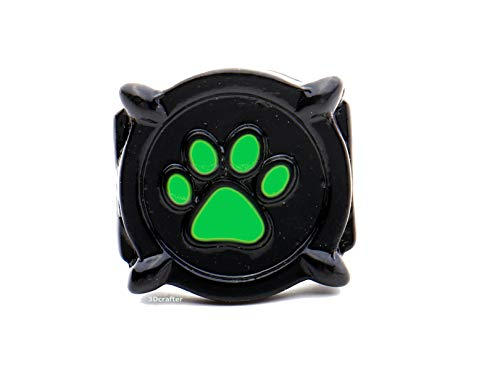 Cat Noir ring costume.size 5,6,7,8.Glow in the dark. Inspired by Miraculous Lady Bug (50 (15.9))