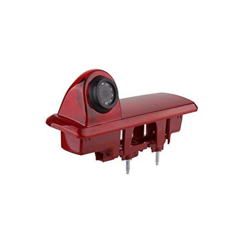 Rückfahrkamera Transporter Kamera an 3. Bremsleuchte Dachkante Einparkhilfe (NTSC) für Vauxhall Vivaro X82 Mk3 Opel Vivaro Renault Trafic FIAT Talento 2015-2019