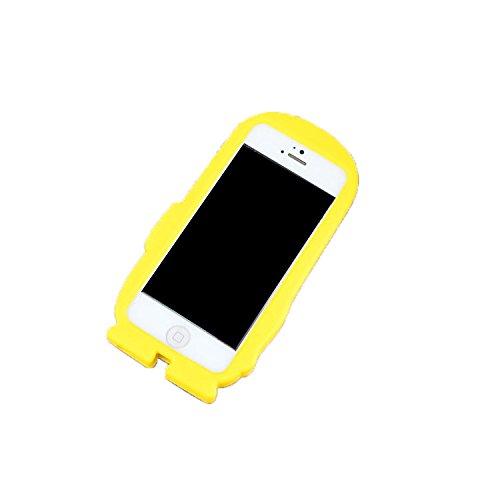 iPhone 5/5S Case, 3D Despicable Me, Cute Cartoon Gru silice Étui pour iPhone 5/5S