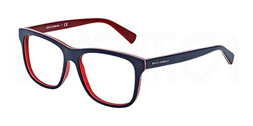 Dolce & Gabbana Für Mann 3206 Blue On Matte Red Kunststoffgestell Brillen, 54mm