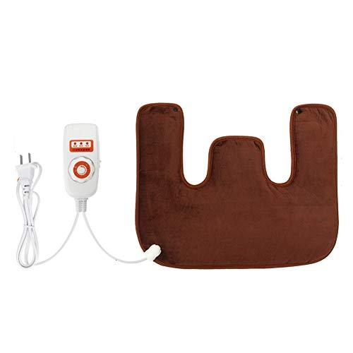 LIBINA - Schulter Heizkissen Elektrischer Neck Massager Electric Heated Shoulder Pad Hot Compress Moxibustion Shawls Shoulder Heizung Pad mit Vibrationstherapie