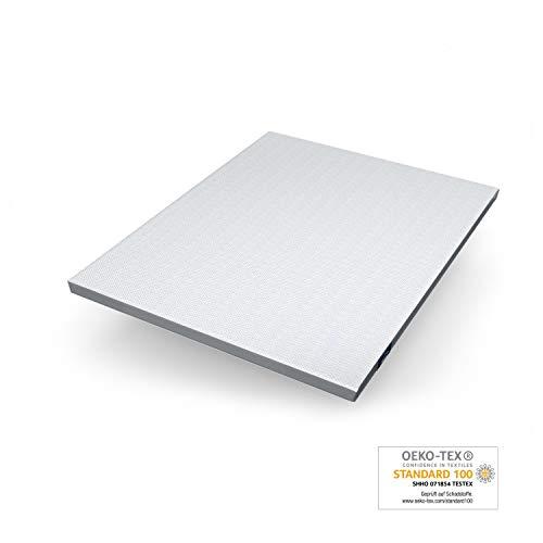 Genius eazzzy Surmatelas 160 x 200 cm | Protège-Matelas Ergonomique | Température de Sommeil optimale | Hypoallergénique | connu en TV