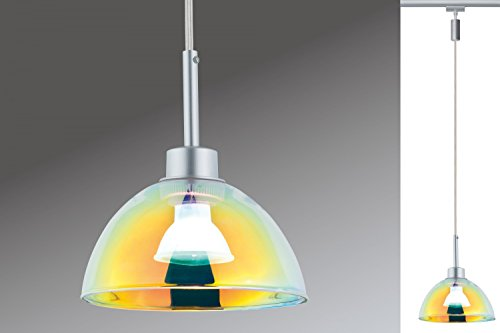 Paulmann URail Pendel Sarrasani max. 1x10W GU10 Chrom matt/Dichro 230V Metall Glas - 3