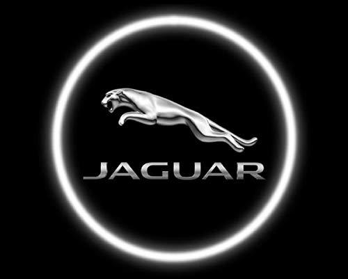 Aokairuisi Kit Luci LED CREE Logo sottoporta Proiettore Jaguar Cortesia 5W 12V Universale
