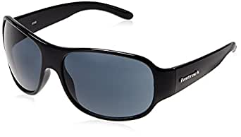 Fastrack Wrap Sunglasses (P236BK1|63|Grey)