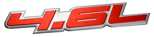 46l-liter-embossed-red-on-highly-polished-silver-real-aluminum-auto-emblem-badge-nameplate-for-ford-