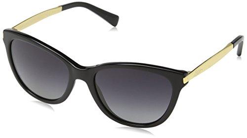 Ralph Lauren Purple Label Unisex RA5201 1265T3 Sonnenbrille, Schwarz (Black), One size (Herstellergröße: 54)