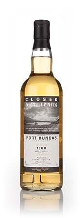 Port Dundas 25 ans 1988 - Fermé Distilleries whisky de grain