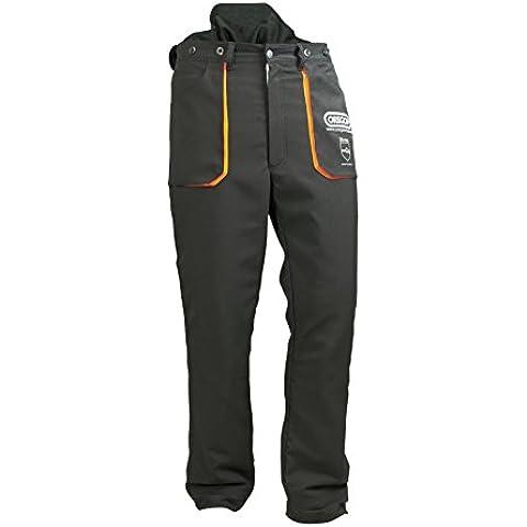 Oregon Scientific 295397 - Pantaloni protettivi per motosega Yukon, tipo C, taglia (Oregon Tipo)