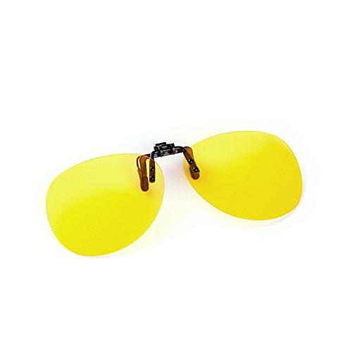 Cyxus Clip-on (Night Vision) polarisierten Sonnenbrillen Unisex (Männer / Frauen) Brillen