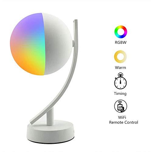 VISTANIA Lámpara Mesa Inteligente Compatible Alexa