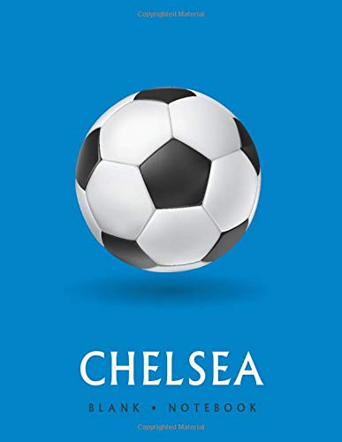 Chelsea Blank • Notebook: Soccer sketchbook for players to draw in, write in and record your thoughts.