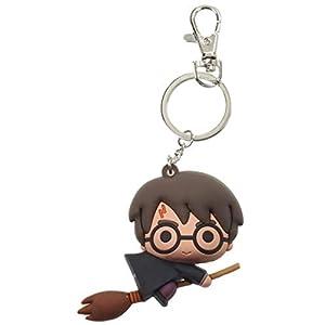SD toys- Harry Potter Broom Nimbus (Capa Negra) Llavero Fig, Multicolor, 30 x 100 x 170 mm (SDTWRN21843) 9
