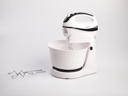 Handmixer Set Rührgerät Turbo Hand Mixer motorbetriebene automatische 3 Liter Rührschüssel 300 Watt Handrührer