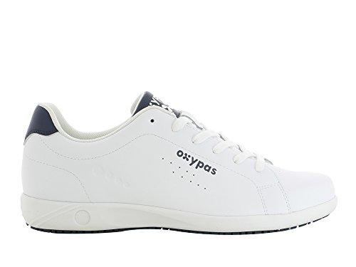 Oxypas Evan Herren Arbeits- und Sicherheitsschuhe | Sneaker, Farbe: weiß, Größe: 45