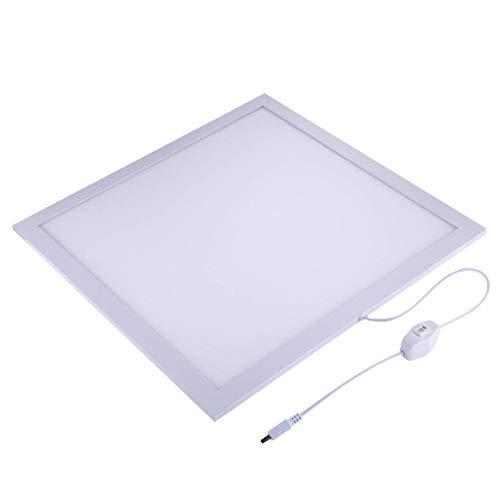 PULUZ Bilder Fill Light Fotografie Beleuchtung Reflektor Warm/White Light Adjustable für Foto-Shootings (Fill-licht-reflektor)