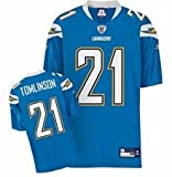 San Diego Chargers NFL American Football Premier genäht Jersey – Tomlinson # 21 – Herren Extra Extra groß (XXL) – 147,3 cm Brust