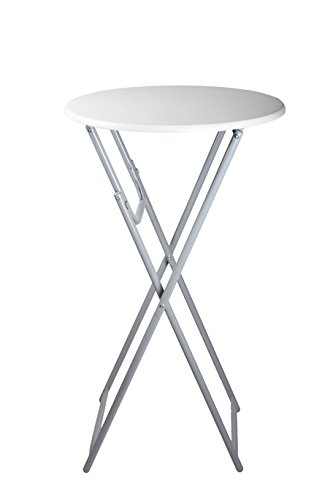 Table-de-bistro-pliable-MDF-haute-dappoint-ronde-Jardin-Patio-de-table-repliable-110-cm