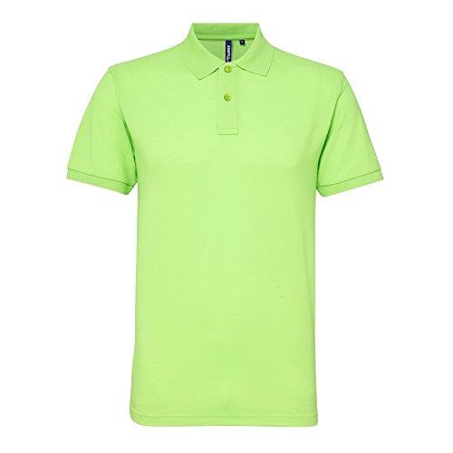 Asquith Fox Herren Poloshirt Neon Green