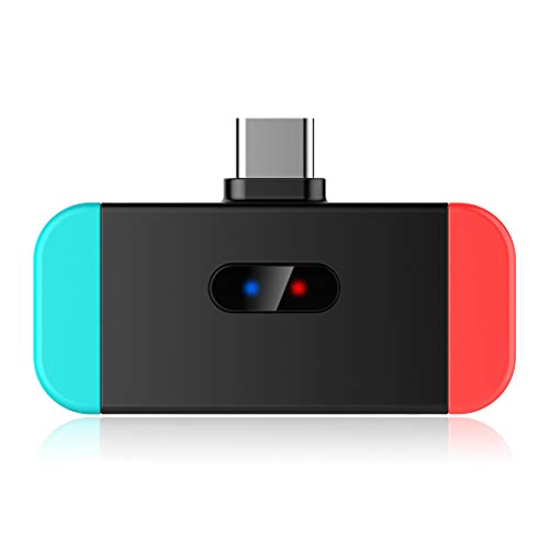 Junlinto, Neue Bluetooth Wireless Audio Adapter Sender Konverter Für Nintend Switch Kopfhörer Headset PS4 Laptop PC Zubehör (Headset-bluetooth-konverter)