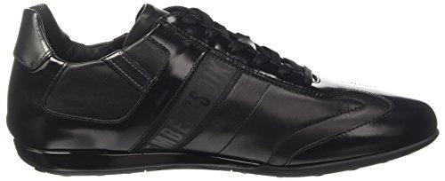 Bikkembergs R-Evolution 926, Sneaker a Collo Basso Uomo Nero