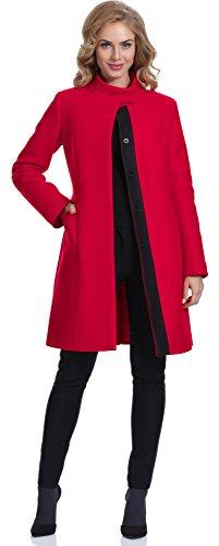 Bellivalini Cappotto Donna GR1F1 (Rosso (7254), EU...
