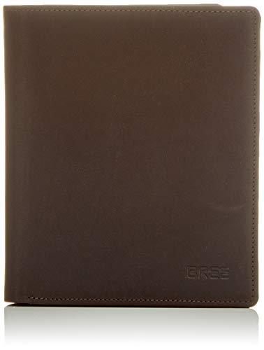 Deluxe-geld-clip (BREE Collection Herren Oxford Slg New 137, Dark Brown, Com. Pu. Geldbörse, Braun, 2x10.5x10.5 cm)