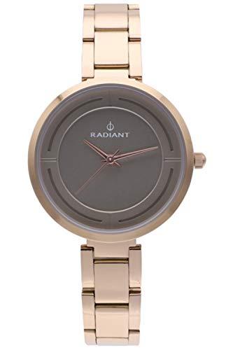 Radiant tatiana orologio Donna Analogico al Al quarzo con cinturino in Acciaio INOX placcato RA488203