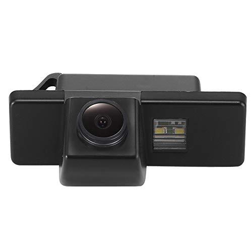 Kalakus Auto Rückfahrkamera Kennzeichenleuchte HD CCD Nachtsicht Kamera Einparkhilfe für Nissan AQSHQAI/X-Trail/Dualis/Citroen/Hatchback/Peugeot (Ccd Nachtsicht-kamera)
