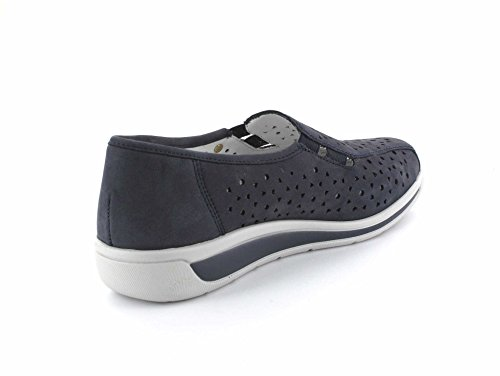 Ara Damen Slipper MERAN 12-36386-09, Nubuk-Heaven Ozean, UK Dunkelblau