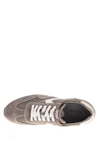 Nero Giardini Homme-Sneaker P604042U 122 Chaussures en Daim Gris - Sasso