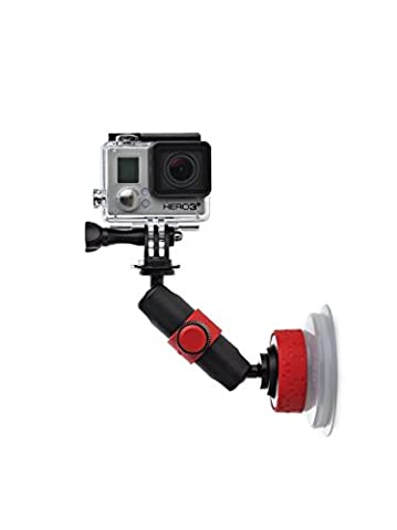 Joby Suction Cup and Locking Arm for Camera - Black/Red