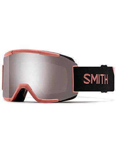 Smith optics squad, maschera sci unisex – adulto, champagne/sun platinum mirror, m