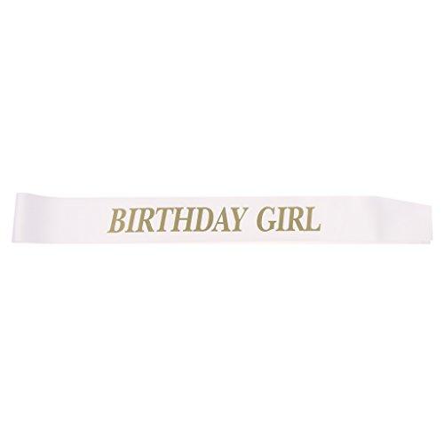 Gazechimp Birthday Girl Schärpe - Mädchen 16. 18. Geburtstag Schärpe -