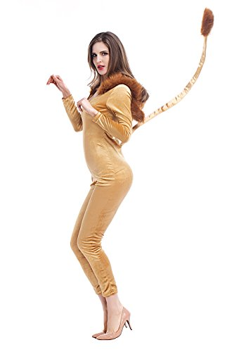VENI MASEE Frauen Sexy Cheetah Cubs/Leopard Katze Halloween Fancy Dress Kostüm