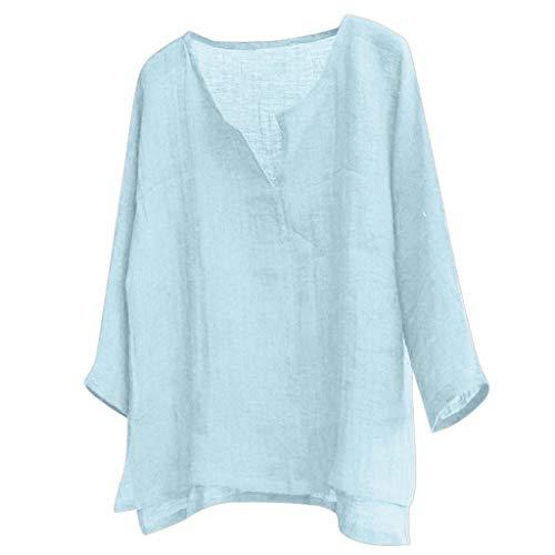 Riou Herren Hemd Langarm Loose Fit Leinenhemd Sommer Herbst Casual Einfache Kurze Atmungsaktive Bequeme Henley Freizeithemd Beiläufige Shirt L/s Henley Hoodie -