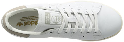 adidas Stan Smith, Sneaker Alte Uomo Bianco (Footwear White/footwear White/clear Granite)