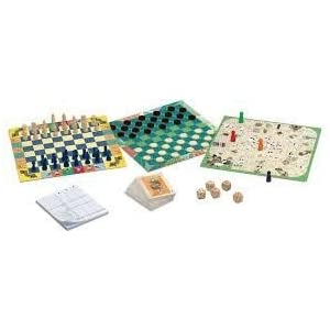 Djeco familiaresJuegos tradicionalesDJECOJuegos clásicos 20 Juegos, Multicolor (15)