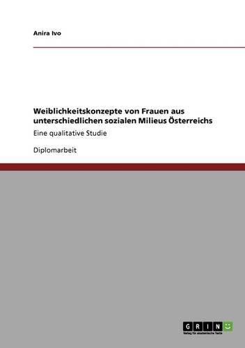 Weiblichkeitskonzepte von Frauen aus unterschiedlichen sozialen Milieus Österreichs: Eine qualitative Studie
