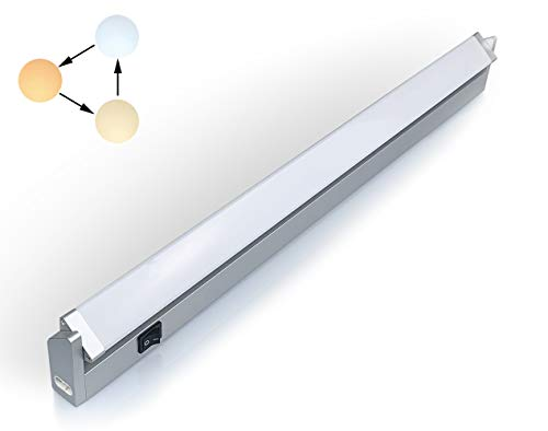 LED iluminacion bajo Mueble Giratoria Tres Temperaturas