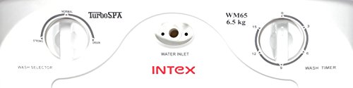 Intex 6.5 kg Washer Only (WM65, White and Maroon)