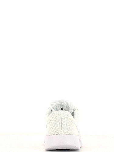 Nike Tanjun (Ps), Chaussures de Sport Fille Blanc Cassé - Blanco (White / White-White)