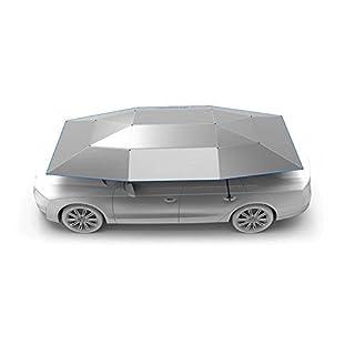 Auto Zelt Semi Automatische gefaltet Tragbarer Automarke Schutz Regenschirm Sunproof