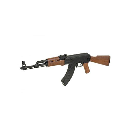 Cyma Airsoft AK47 ABS semiautomático/automático Aeg Black CM522 (Potencia DE 0,5 Julios)