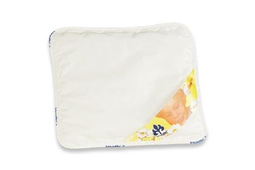 Badenia Bettcomfort 03840610103 Kinderflachkissen Irisette Bambino 35 x 40 cm weiß